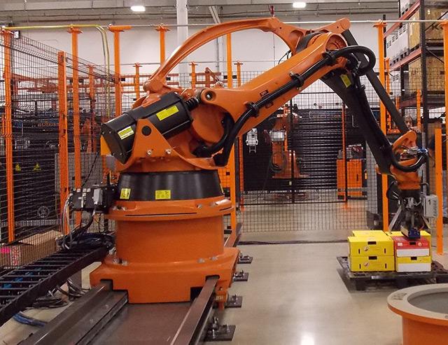 BENEFITS OF ROBOTIC PALLETIZING
