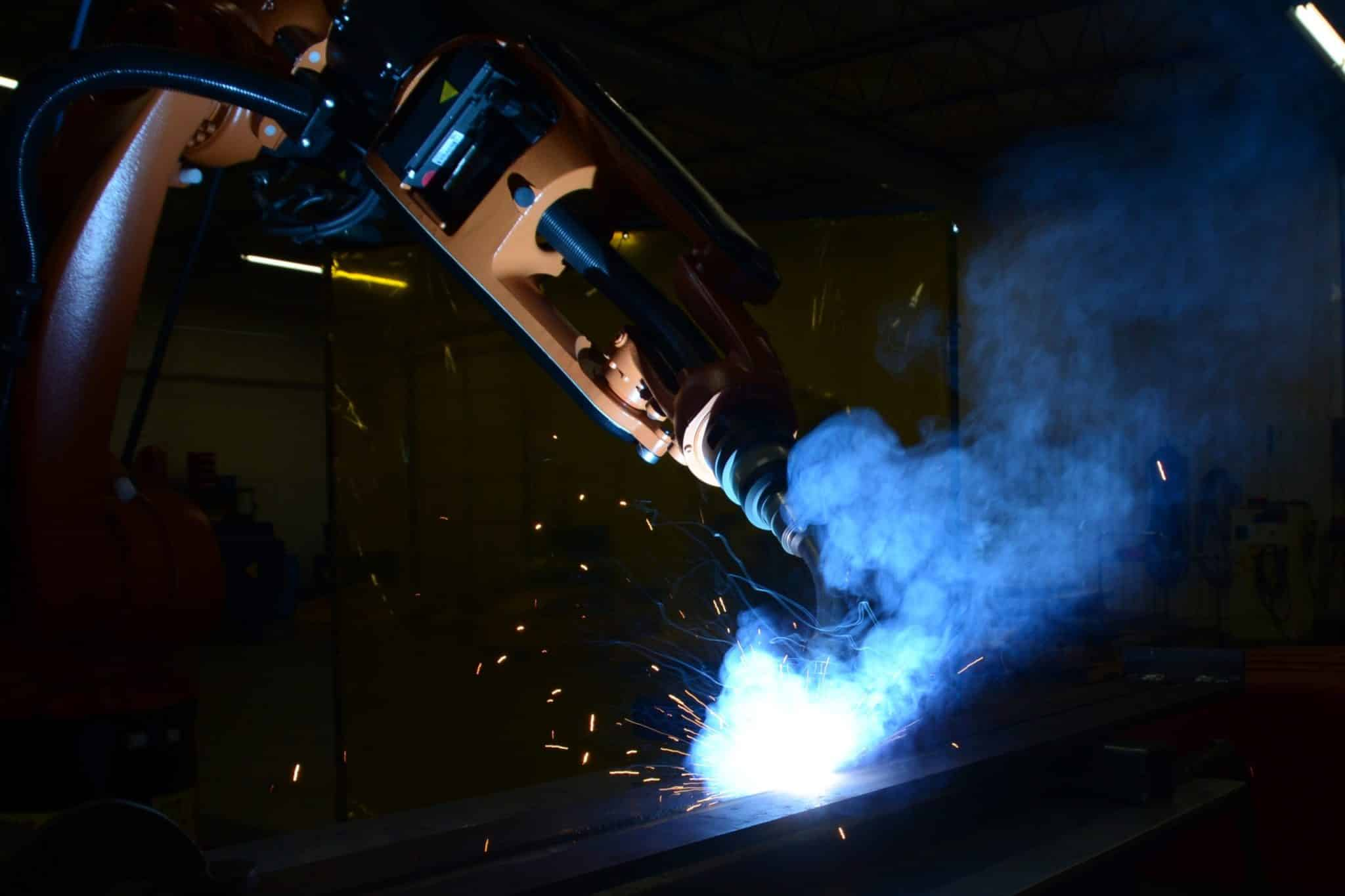 KC Robotics offers complete welding solutions for aluminum, steel and alloy processes.